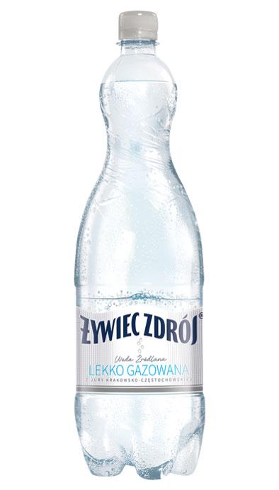 Woda Żywiec Zdrój lekko gazowana źródlana
