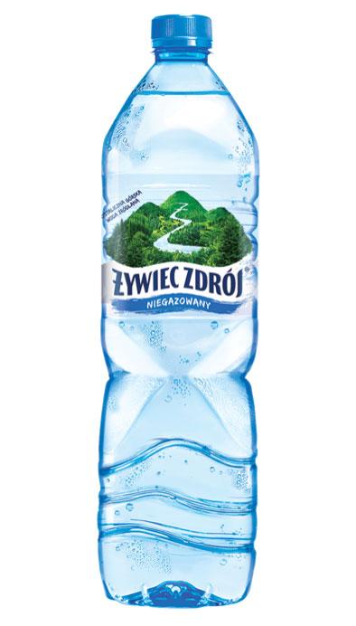 Woda Żywiec Zdrój niegazowana, duża butelka
