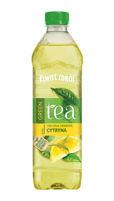 Żywiec Zdrój green tea o smaku zielonej herbaty i mięty