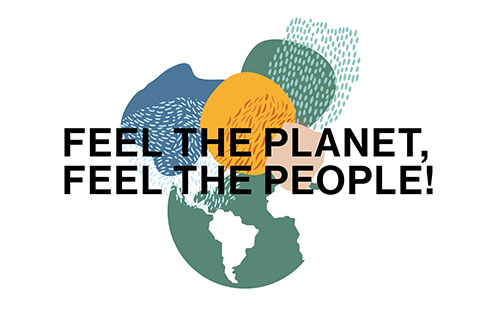 Feel the planet - logo
