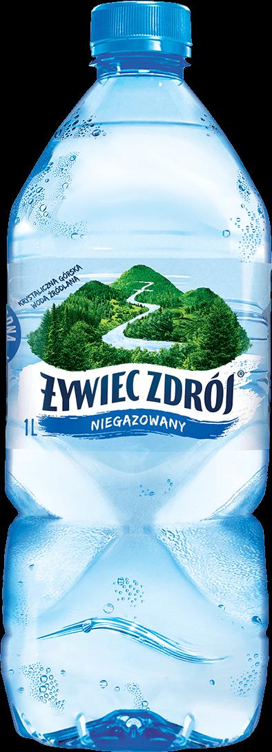 Woda Żywiec Zdrój niegazowana, litrowa butelka